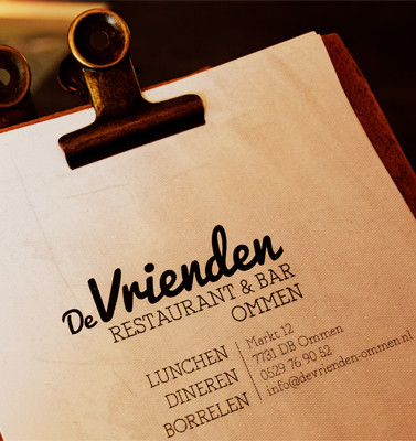 Reviews restaurant De Vrienden Ommen